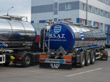 BSAT перевозка наливных грузов автоцистернами