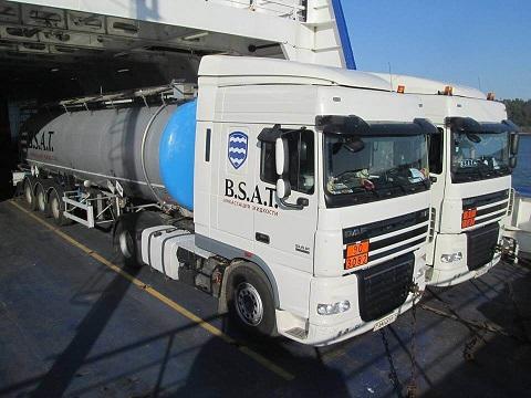 Перевозка наливных опасных грузов