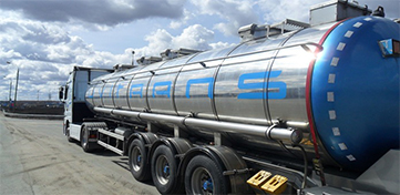 Перевозка наливных грузов автоцистернами. BSAT