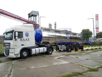 Перевозка наливных грузов изотермическими автоцистернами
